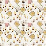 seamless flower pattern Stock Photo - Royalty-Free, Artist: notkoo2008                    , Code: 400-04273653