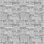 seamless house pattern Stock Photo - Royalty-Free, Artist: notkoo2008                    , Code: 400-04273752