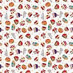 seamless house pattern Stock Photo - Royalty-Free, Artist: notkoo2008                    , Code: 400-04273753