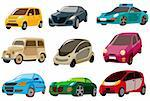 cartoon car icon Stock Photo - Royalty-Free, Artist: notkoo2008                    , Code: 400-04273811