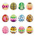 cartoon Easter Egg Stock Photo - Royalty-Free, Artist: notkoo2008                    , Code: 400-04273905