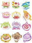 cartoon cake Stock Photo - Royalty-Free, Artist: notkoo2008                    , Code: 400-04273966