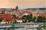 view on the Prague, Czech Republic