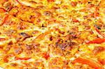 Close up of pizza background Stock Photo - Royalty-Free, Artist: ElnurCrestock                 , Code: 400-04277577