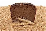 Bread with wheat and ears Stock Photo - Royalty-Free, Artist: SeDmi                         , Code: 400-04278395