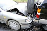 Car accident on the highway Stock Photo - Royalty-Free, Artist: VPVHunter                     , Code: 400-04279797