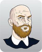cartoon man Stock Photo - Royalty-Freenull, Code: 400-04284389