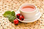 rose hip tea Stock Photo - Royalty-Free, Artist: joannawnuk                    , Code: 400-04286535