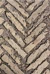 Stone pattern on land roadway in the manner of background Stock Photo - Royalty-Free, Artist: RuslanOmega                   , Code: 400-04287393