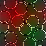 Abstract elegance background with lighting rings. Vector illustration. Seamless pattern. EPS-10. Stock Photo - Royalty-Free, Artist: boroda                        , Code: 400-04288881