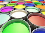 Color paint tank, abstract background Stock Photo - Royalty-Free, Artist: novelo                        , Code: 400-04291020