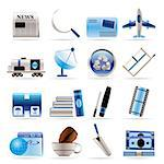 Business and industry icons - Vector Icon set 2 Stock Photo - Royalty-Free, Artist: stoyanh                       , Code: 400-04292469