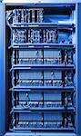 The communication and internet network server room Stock Photo - Royalty-Free, Artist: pariwatlp                     , Code: 400-04301400
