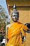 Buddha statue Can you see them in Thai Temple In Thailand Stock Photo - Royalty-Free, Artist: kuponjabah                    , Code: 400-04302840