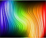 A rainbow colors abstract horizontal lines background. Stock Photo - Royalty-Free, Artist: emaria                        , Code: 400-04303095