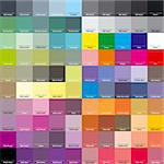 CMYK palette for artist and designer. EPS 8 vector file included Stock Photo - Royalty-Free, Artist: ghostintheshell               , Code: 400-04304347