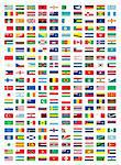 flags Stock Photo - Royalty-Free, Artist: zabiamedve                    , Code: 400-04307575
