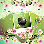 St. Patrick's Day card design Stock Photo - Royalty-Free, Artist: Merlinul                      , Code: 400-04308203