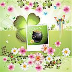 St. Patrick's Day card design Stock Photo - Royalty-Free, Artist: Merlinul                      , Code: 400-04308207