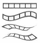 Various vector film strips for designs Stock Photo - Royalty-Free, Artist: ThomasAmby                    , Code: 400-04310683
