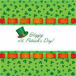 St. Patrick`s day invitation, vector illustration Stock Photo - Royalty-Free, Artist: MarketOlya                    , Code: 400-04312248