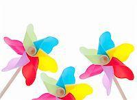 Colorful Pinwheel Background Summer Concept Border Image Stock Photo - Royalty-Freenull, Code: 400-04314102