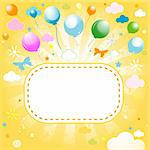 colorful summer design Stock Photo - Royalty-Free, Artist: dip                           , Code: 400-04314821