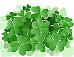 background design for St. Patrick's Day with three leaves clovers Stock Photo - Royalty-Free, Artist: dip                           , Code: 400-04314823