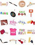Collection of SALE Signs for a Variety of Uses. Stock Photo - Royalty-Free, Artist: brookebecker                  , Code: 400-04314969