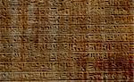 Ancient Egyptian hieroglyphs carved in the stone Stock Photo - Royalty-Free, Artist: Fyletto                       , Code: 400-04315160
