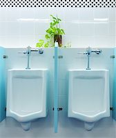 urinals at office Stock Photo - Royalty-Freenull, Code: 400-04322526