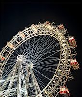 dpruter - Wiener Riesenrad in Prater - oldest and biggest ferris wheel in Austria. Symbol of Vienna city at night Stock Photo - Royalty-Freenull, Code: 400-04326477