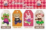 animal card Stock Photo - Royalty-Free, Artist: notkoo2008                    , Code: 400-04335438