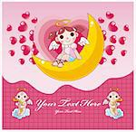 Valentine card Stock Photo - Royalty-Free, Artist: notkoo2008                    , Code: 400-04335455