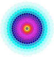 Abstract design with geometric shapes optical illusion illustration Stock Photo - Royalty-Freenull, Code: 400-04335606