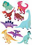 cartoon Dinosaur icon Stock Photo - Royalty-Free, Artist: notkoo2008                    , Code: 400-04337037