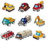 cartoon truck icon Stock Photo - Royalty-Free, Artist: notkoo2008                    , Code: 400-04337047
