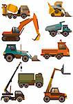 cartoon truck icon Stock Photo - Royalty-Free, Artist: notkoo2008                    , Code: 400-04337083