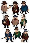 cartoon mafia icon Stock Photo - Royalty-Free, Artist: notkoo2008                    , Code: 400-04337119