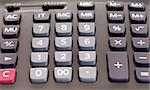 The big black calculator - close up keypad background Stock Photo - Royalty-Free, Artist: fotostok_pdv                  , Code: 400-04337279