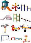 cartoon playground icon Stock Photo - Royalty-Free, Artist: notkoo2008                    , Code: 400-04337803