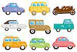 cartoon car icon Stock Photo - Royalty-Free, Artist: notkoo2008                    , Code: 400-04337848