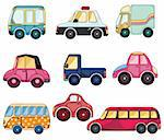 cartoon car icon Stock Photo - Royalty-Free, Artist: notkoo2008                    , Code: 400-04338319