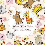animal card
