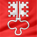 High resolution flag of the canton of Nidwalden Stock Photo - Royalty-Free, Artist: joggi2002                     , Code: 400-04342939