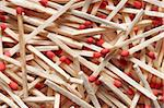 Many new matches in random spread for background Stock Photo - Royalty-Free, Artist: fotostok_pdv                  , Code: 400-04344788