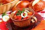 Lesco - originally Hungarian thick vegetable stew with peppers, onion and tomato Stock Photo - Royalty-Free, Artist: Brebca                        , Code: 400-04347800