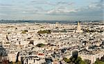 Paris cityscape - view from the Eiffel tower Stock Photo - Royalty-Free, Artist: lindom                        , Code: 400-04348742