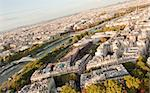 Paris cityscape - view from the Eiffel tower Stock Photo - Royalty-Free, Artist: lindom                        , Code: 400-04348743