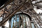 The Elevator in the Effel Tower in Paris Stock Photo - Royalty-Free, Artist: lindom                        , Code: 400-04348745